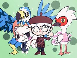 Animal Crossing - Friends! by Undead-Niklos