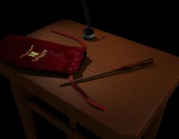 Potter wand table by Hasaniwalker