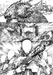 gear's project p3 bw by gigaboltmanowar