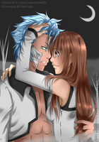 AT Chihiro and Grimmjow by MyangHime