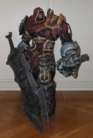 War from Darksiders papercraft by minidelirium