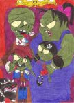 The Zombie Family by NiftyNautilus