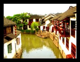Water Town by ShanghaiBoo