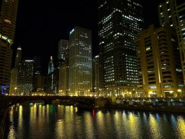 lights of the chicago river 1 by sethlamden