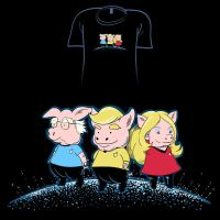Woot Shirt - Pigs In Starfleet by fablefire