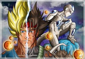 Dragon Ball: Father and son by PAabloO