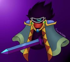Dark Matter Swordsman by LunarHalo24