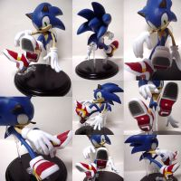Sonic figure ver.SA2 shoes by shoppaaaa