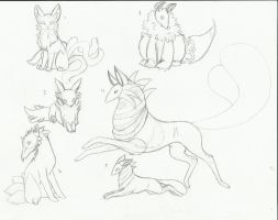 .:My charries sketches:. by LeeOko