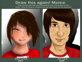 Draw This Again: Dan Howell by PurryProductions-Inc