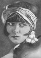 Louise Brooks by Karentownsend