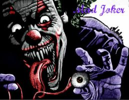 Joker Evil Clown by jokercrazy
