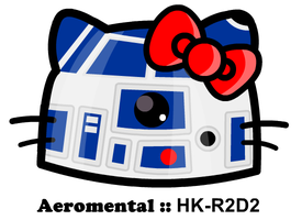 Hello Kitty R2D2 by danielsemper