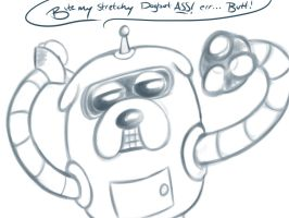 Jander the Dogbot by SlimeKingKtW