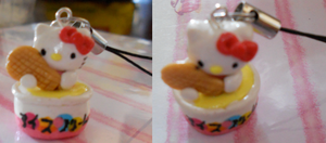 Hello Kitty Ice Cream Bowl by misoandramen