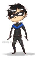 The Lil' Nightwing by Elusha-Rush