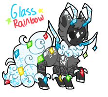 Glass Rainbow Tranceling AUCTION by Celestial-Trance