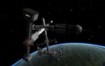 Coccoon orbital dock. by Noert
