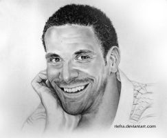 Rio Ferdinand Drawing by riefra