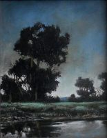 Oil Paint Landscape by Boias