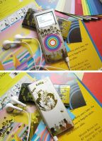iPod Nano 2G Beatles Skin by paperplane-products
