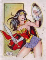 Wonder Woman (#18) by Rodel Martin by VMIFerrari