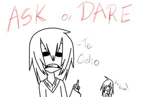.:Ask or Dare Jeff:. by NyAzuraTheFoxgong