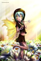 Snake fairy by JaezX
