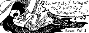 Miiverse. Marceline singing. by HipsterAnt