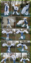 Lugia Fursuit Costume Kigurumi V. 2 by Eternalskyy
