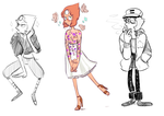 Pearl Outfits by withery