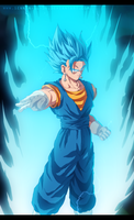 Vegetto Super Saiyan God Super Saiyan by SenniN-GL-54
