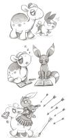 Numel and friends by Kethavel