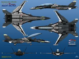 IFX-25S mark-III 6-View Yukikaze by haryopanji