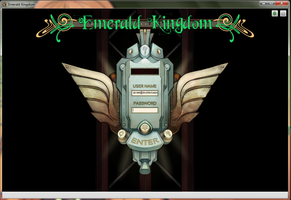 Emerald Kingdom: Login. by DoubleCluepon
