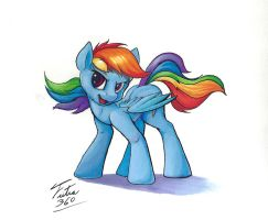 Dash Prismacolor Test by Tsitra360