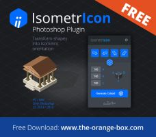 IsometrIcon - Free Photoshop Plugin by templay-team