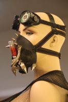 Venom Virus Mask and Goggles by SelfInflictedApparel