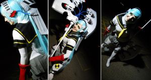 The Raging Bull of Destruction, Shadow Labrys! by bodysnatched