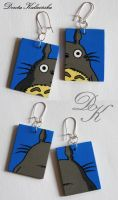 Totoro earrings set 1 by SamanthaBossy