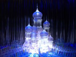 The Ice Sculpture  For the Yule Ball by hellonlegs
