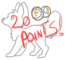 20 Point Lineart by AnamayCat