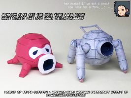 papercraft Advance Wars octorok tank?? by ninjatoespapercraft
