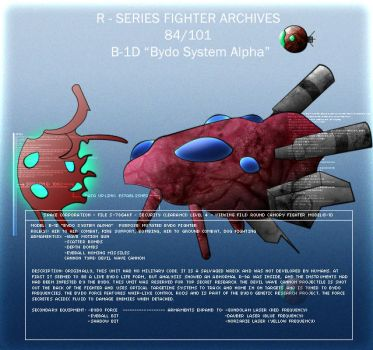 B-1D 'Bydo System Alpha' by Wes2299