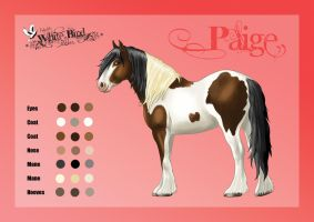 Paige: Character Reference by Kalesta