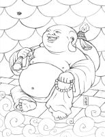 Buddha - Clean Pencils by soliton