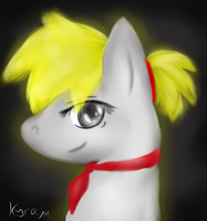 Little gift for Gold Light x3 by CKittyKat98