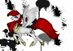 Lauren Faust as pony by nihhal