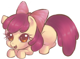 Applebloom by CielaArt