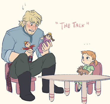 The Talk - Kristoff and Heidi by NightLiight